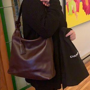 Vintage Chanel satchel purse
